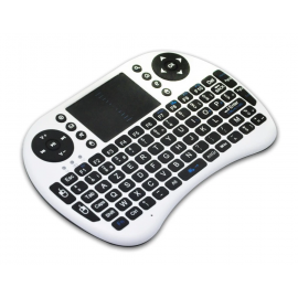 Mini Teclado Rii I8 AZERTY - Blanco