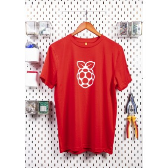 T-shirt officiel Rasberry Pi