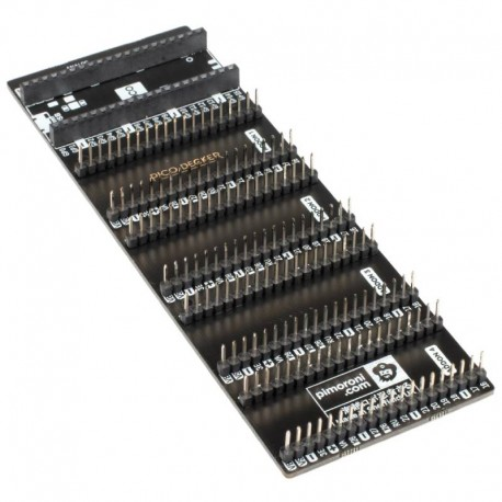 Carte d'extension GPIO Pico Decker (Quad Expander)