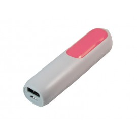 Chargeur Powerbank 2600mAh color (Rose)