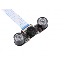Raspberry Pi Camera FIshEye Grand Angle 5MP