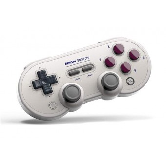 Manette Gamepad Bluetooth 8Bitdo SN30 Pro G Classic Gris