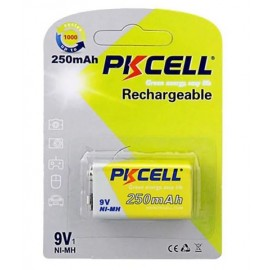 Pile rechargeable 9V 250mAh PKCELL