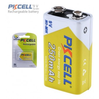Batterie rechargeable PKCELL 9 V Ni-MH 250 mAh